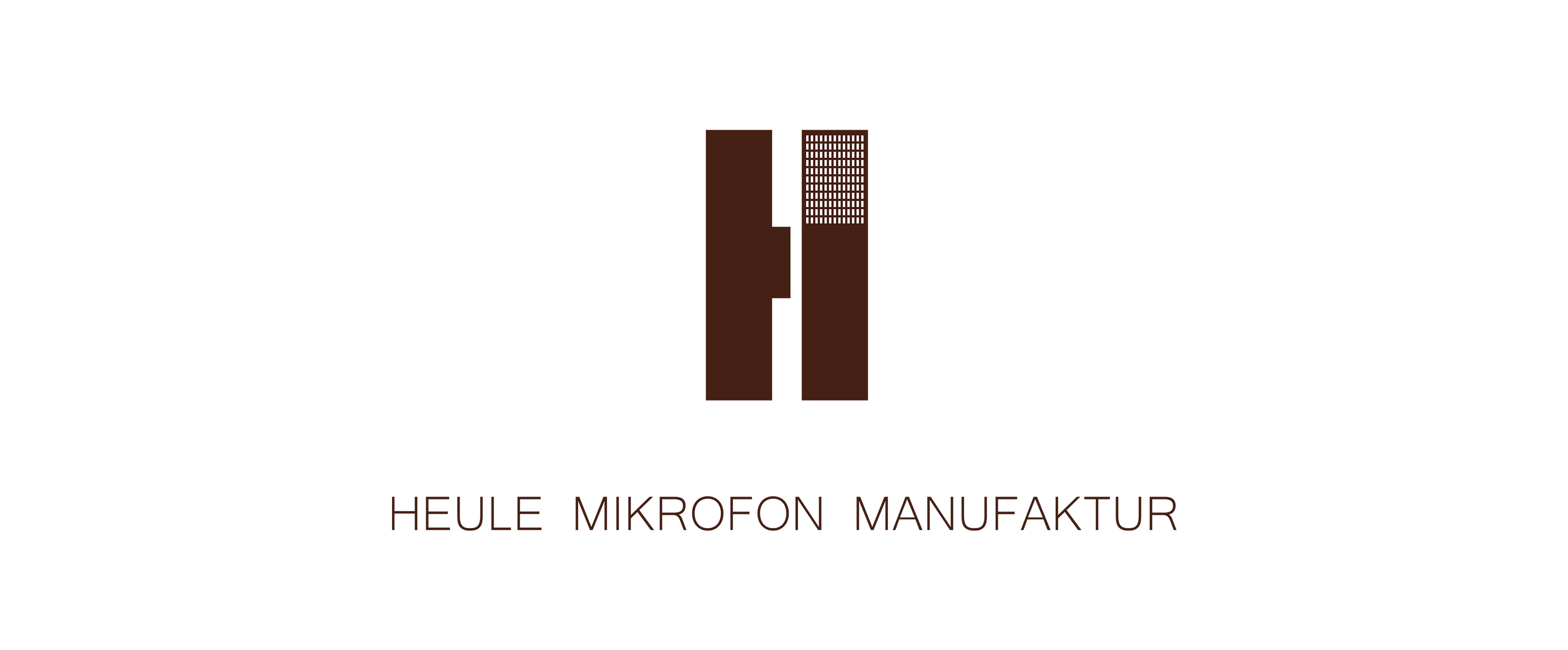 Heule Mikrofon Manufaktur - Logo